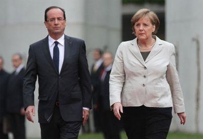 Se reunirá Merkel con Hollande en París | Info7 | Economía