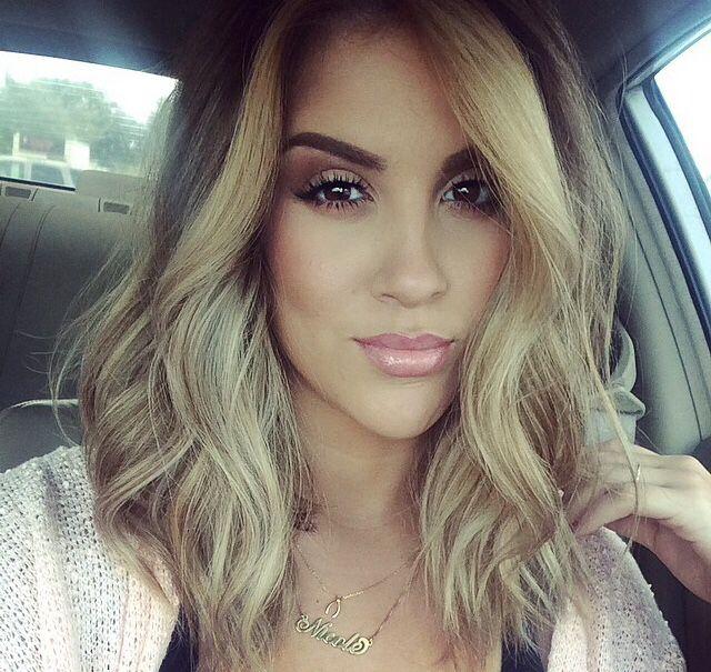 Nicole Guerriero Hair Color Blonde Hair Short Blonde Hair