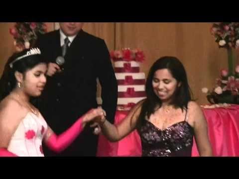quinceañera jessenya puesta de ligas - YouTube