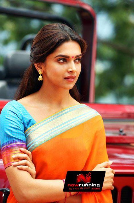 Chennai Express | Deepika padukone saree, Deepika padukone ...