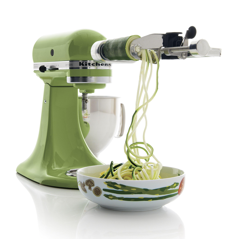 KitchenAid ® Spiralizer Attachment | Spiral cutter, Kitchenaid mixer ...