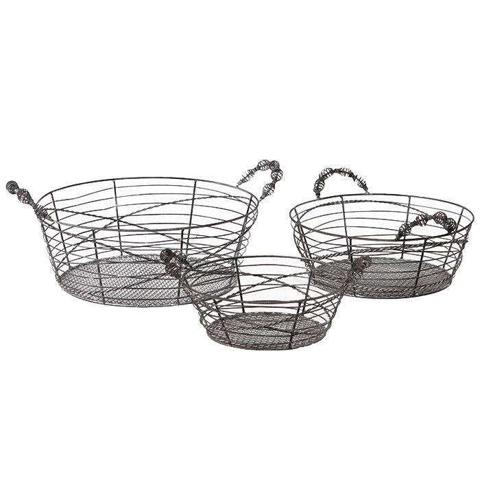 3 Piece Harriet Basket Set | Bins & Totes | Pinterest | Kitchen ...