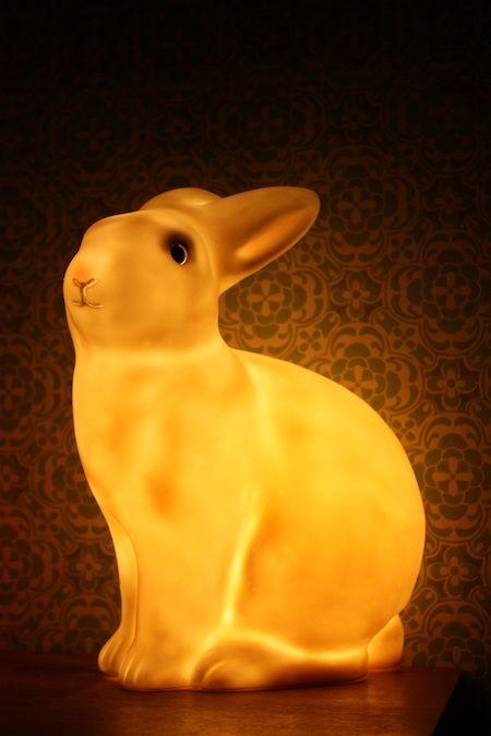Veilleuse lapin toute douce..
