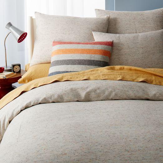 Speckled Jacquard Duvet Cover Shams Duvet Covers New Furniture Furniture