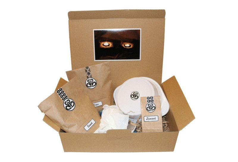 """Teelichthalter """"KerzenKissen"""" - DIY BastelBoxx von BastelBoxx auf DaWanda.com"""