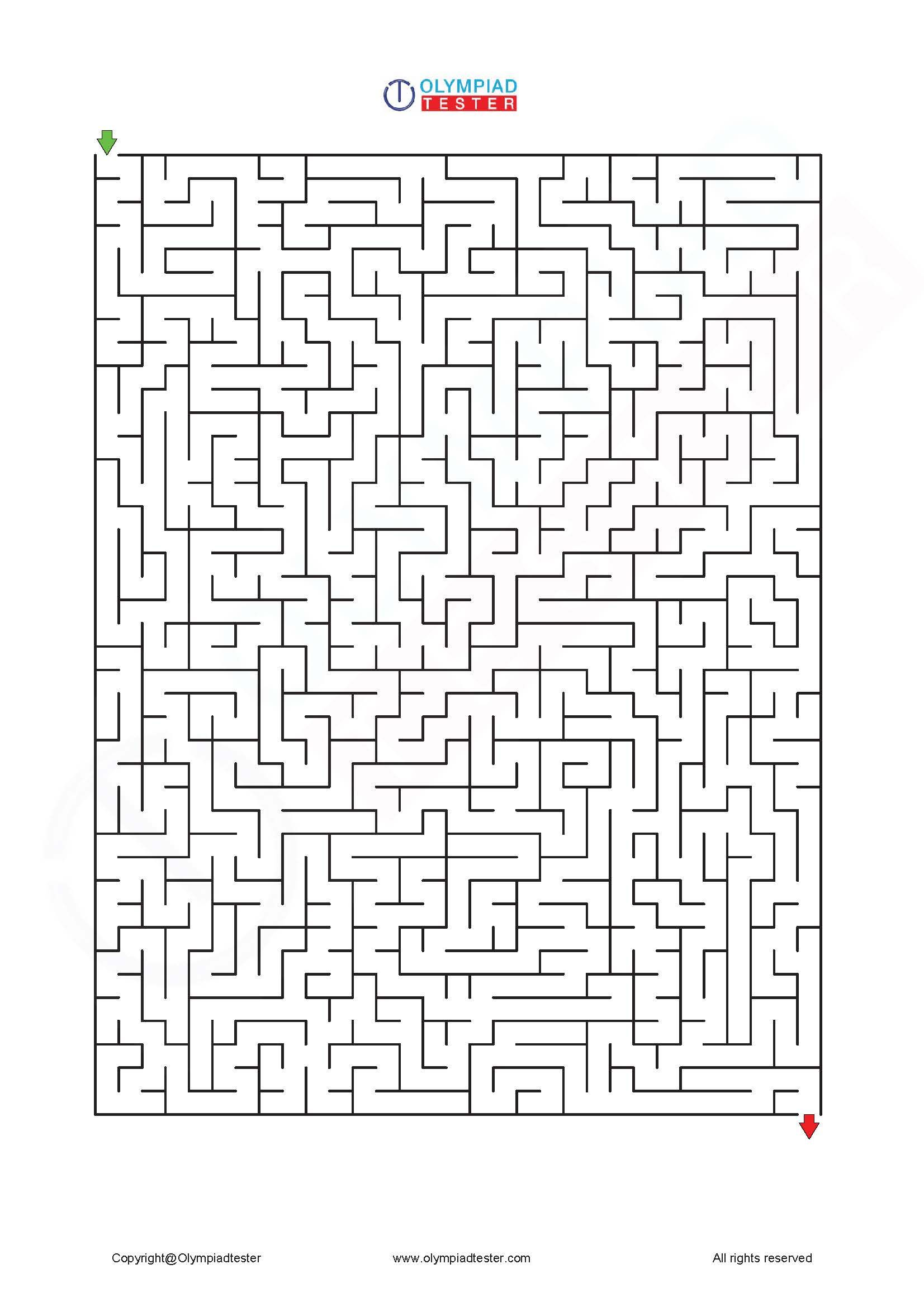 Mazes Puzzles For Kids