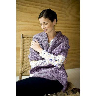 Tender Shawl In Lion Brand Homespun 81041ad Knitting Patterns