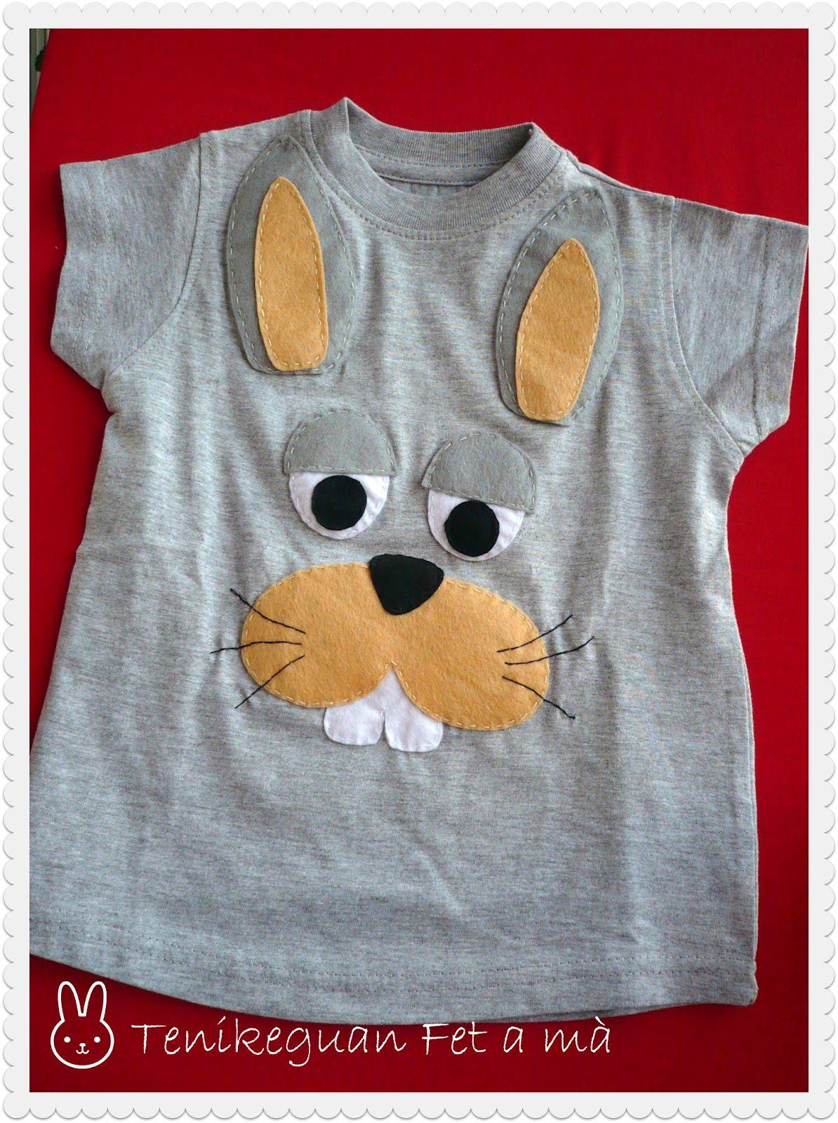 camiseta+conejito.jpg 1.194×1.600 píxeles | appliqués animales ...