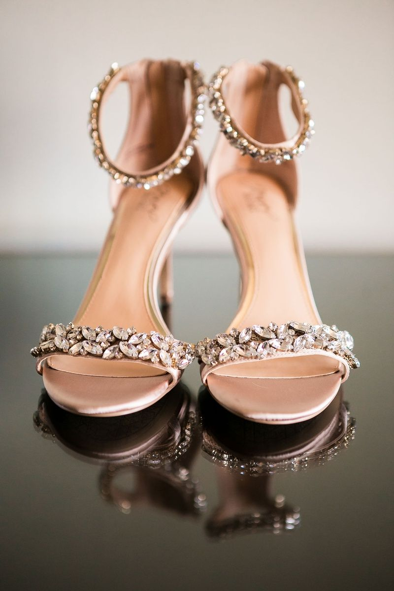 Wedding Shoes Bridal Sandals Crystal Details On Toe Strap And Ankle Strap Gold Wedding Shoes Bridal Sandals Wedding Sandals