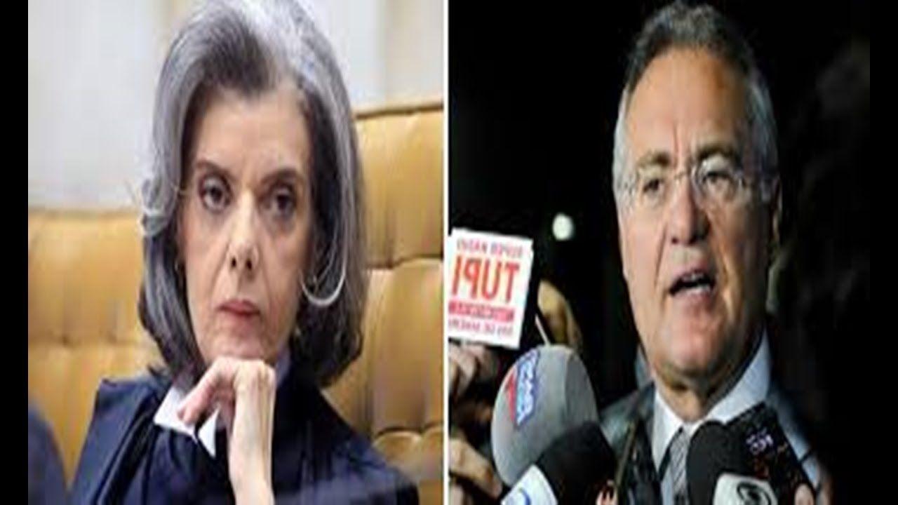 A CASA CAIU!  Min. Cármen Lúcia (STF) marca julgamento de Renan Calheiros