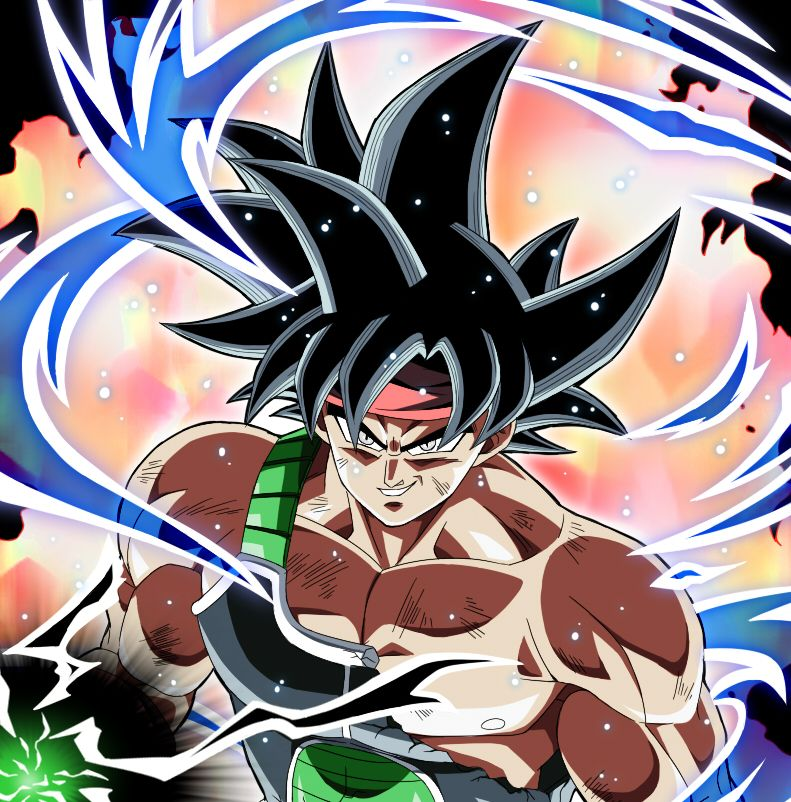 bardock in ultra instinct