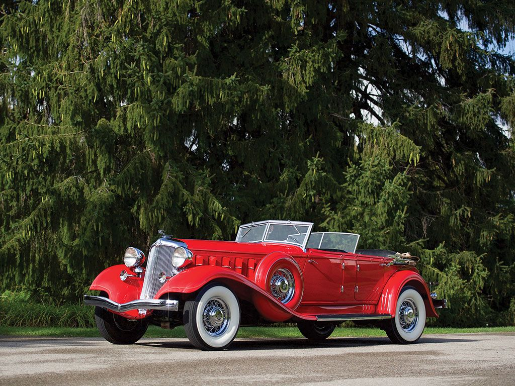 1933 Chrysler CL Imperial Dual-Windshield Phaeton by LeBaron | Old ...