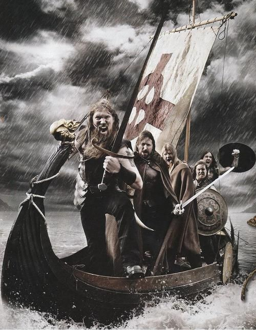 Silly Sword Fights Amon Amarth Heavy Metal Music Amon
