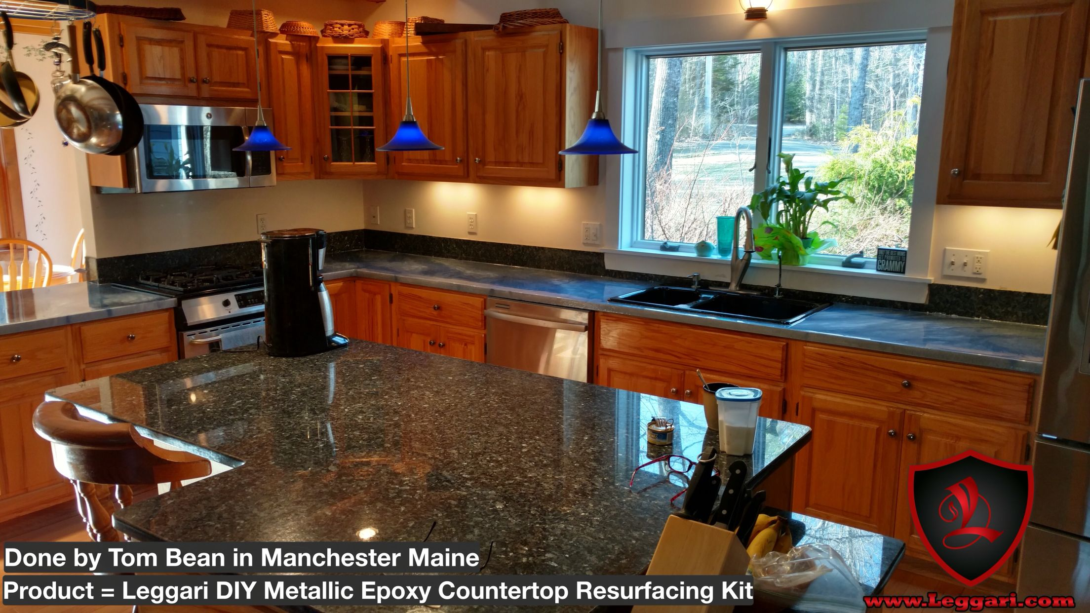 Our Metallic Epoxy Countertop Kits Have Been A Huge Success