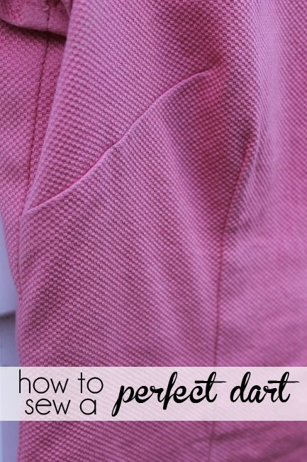 Tips for Sewing Darts