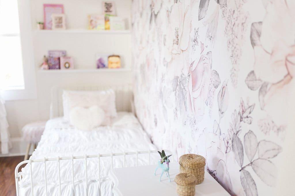 Wallpaper Bedroom Ideas Fresh Kids Bedroom Wallpaper Girls Bedroom Floral Wallpaper Decor Di 2020