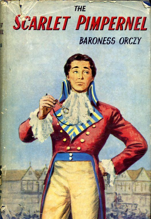 Vintage Novels The Scarlet Pimpernel By Baroness Orczy The Scarlet Pimpernel Scarlet Day Book