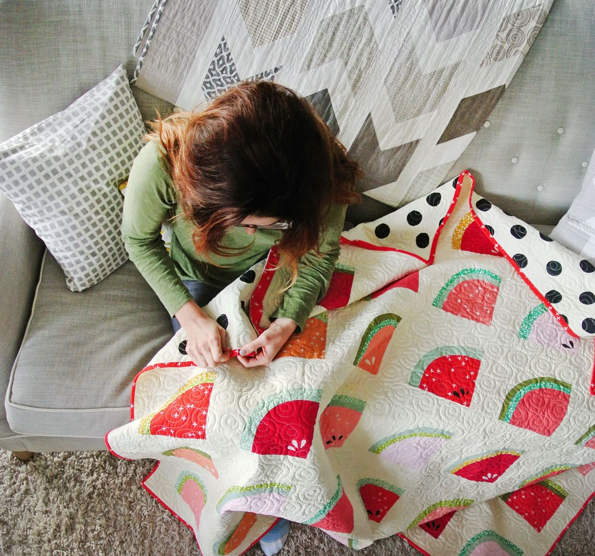 How To Sew Binding On A Quilt (VIDEO