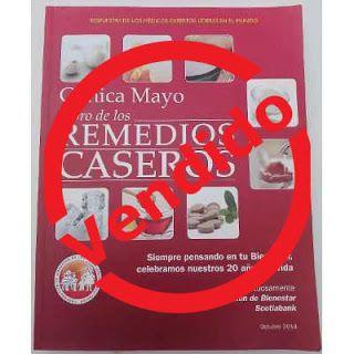 Paraíso del Libro Usado: Libro de los Remedios Caseros Clínica Mayo