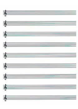 Music Paper Music Paper Blank Sheet Music Ps Pdf Print