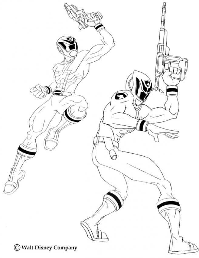 Armed Power Rangers Coloring Page More Power Ranger Coloring