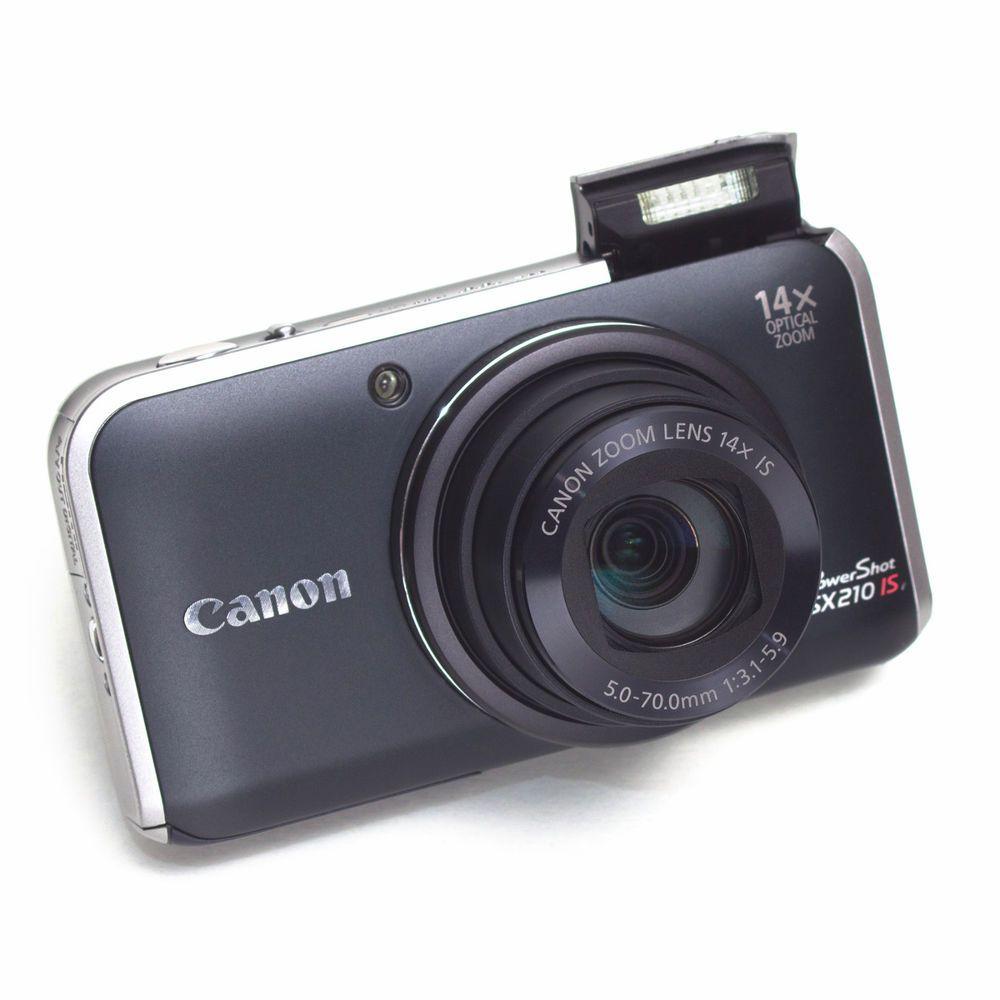 Canon PowerShot SX210 IS 14 MP Compact Digital CAMERA 14X
