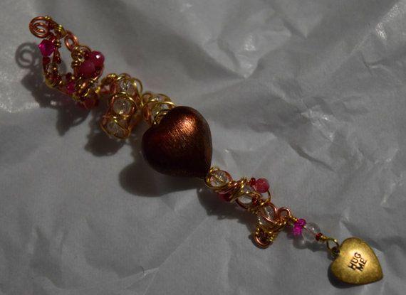 """Hug Me"" #ValentinesDreadBead by Cheyenne Le Hale - NVCL3ARBVTT3RFLY"