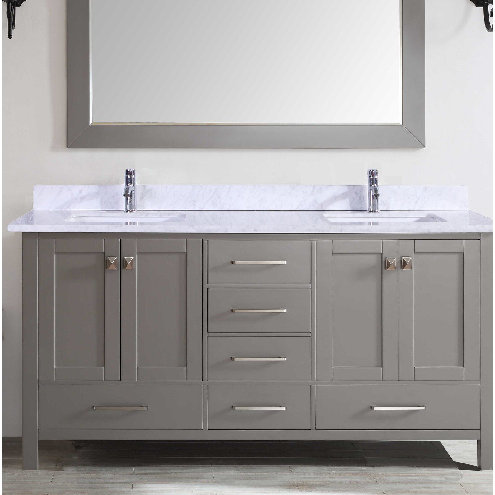 Zeringue 84 Double Bathroom Vanity Set Double Vanity Bathroom