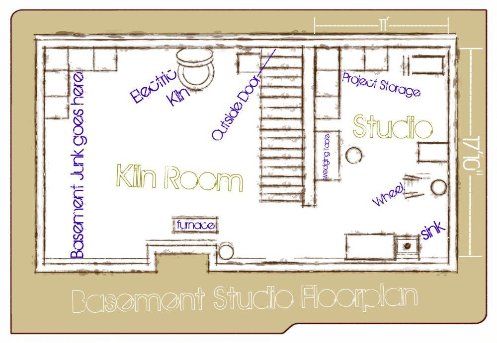 Studio Floor Plan Studio Floor Plans Pottery Studio Studio Layout
