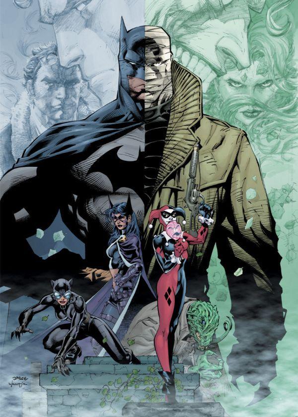"Official DC Comics Jim Lee Collection Hush #Displate artwork by artist ""DC Comics"". Part… | Displate thumbnail"