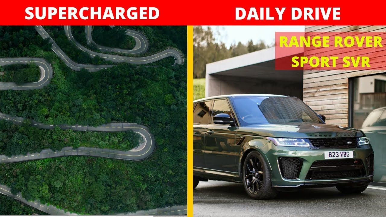 Range Rover Sport SVR Special Vehicle Operations Range