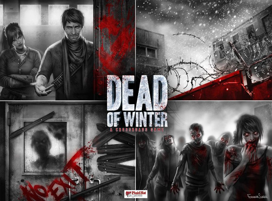 Artwork for Dead of Winter Winter scenes, Winter art, Winter