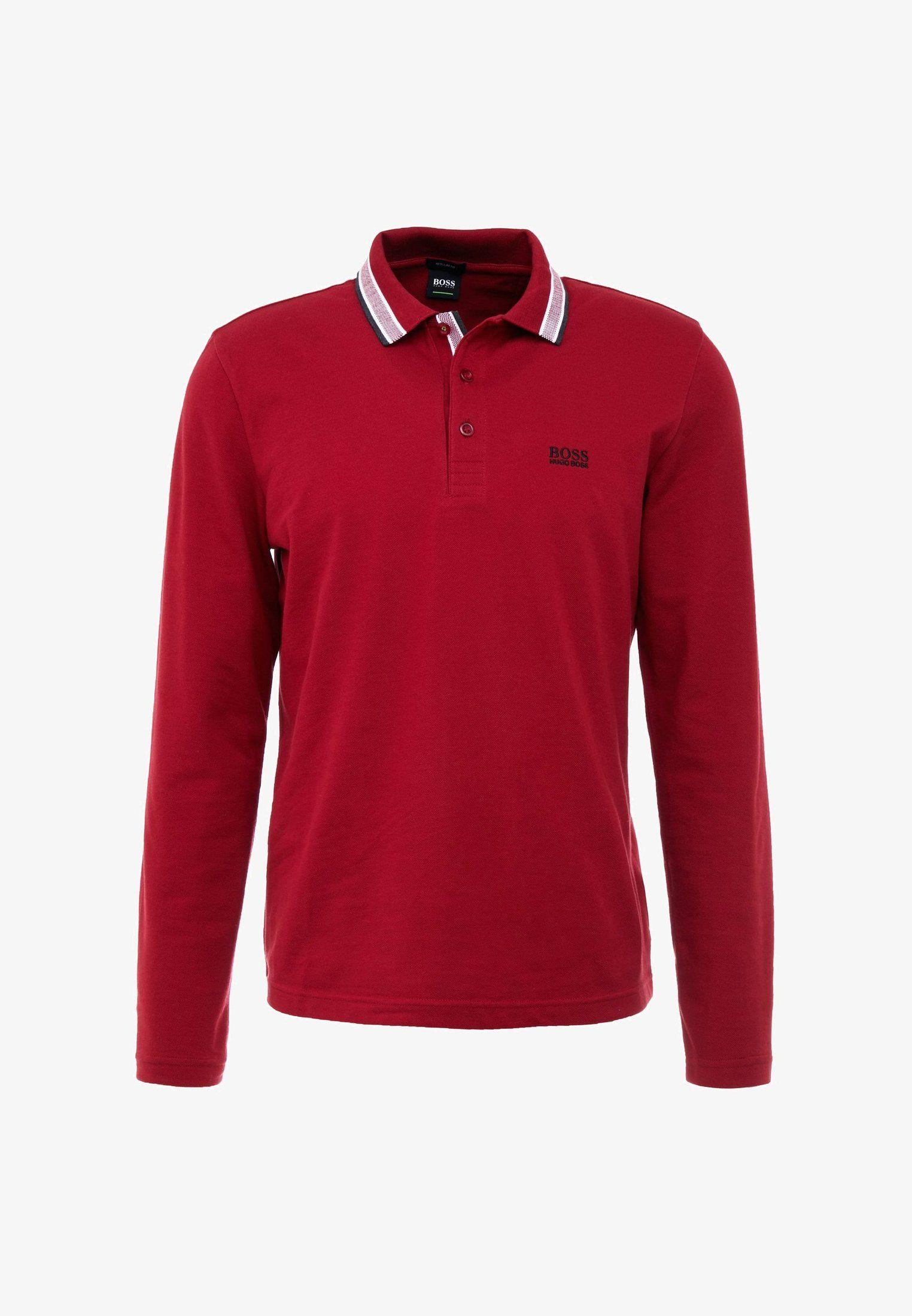 04891ee9 PLISY REGULAR FIT - Polo shirt - dark red @ Zalando.co.uk 🛒 de 2019 ...