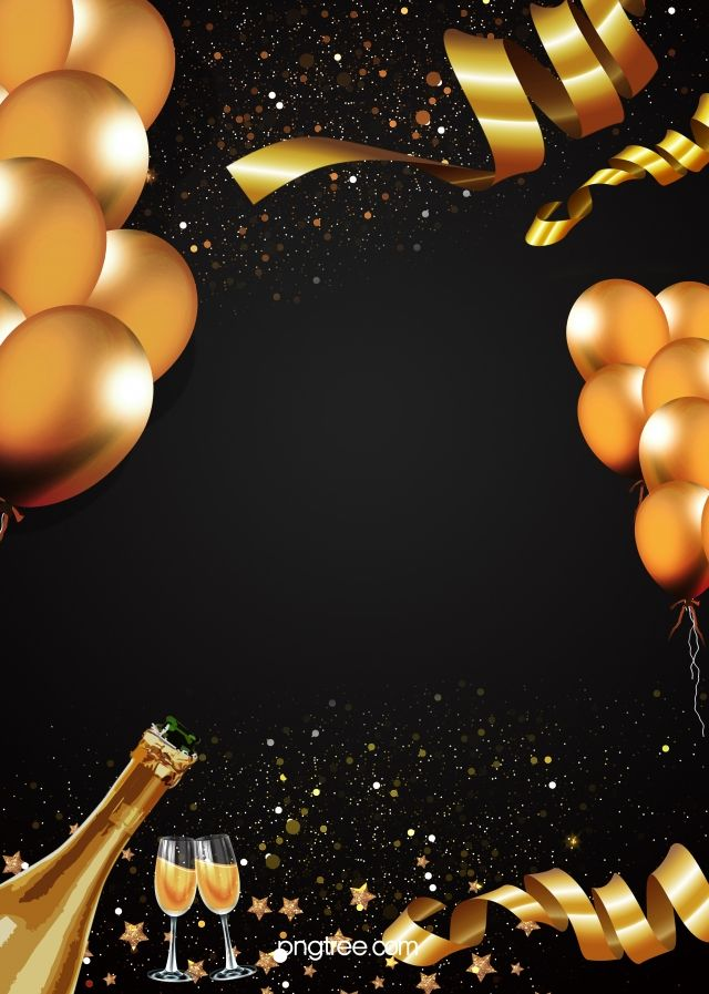 Party Party Background Champagne Party Birthday Background Design