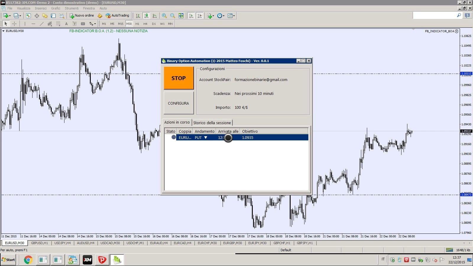 Trading risk management software