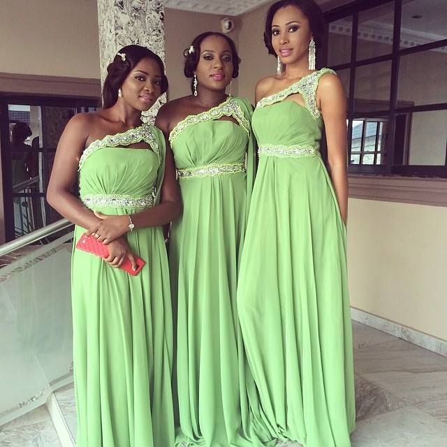 Gorgeous light Green Nigerian weddings inspiration for bride and ...