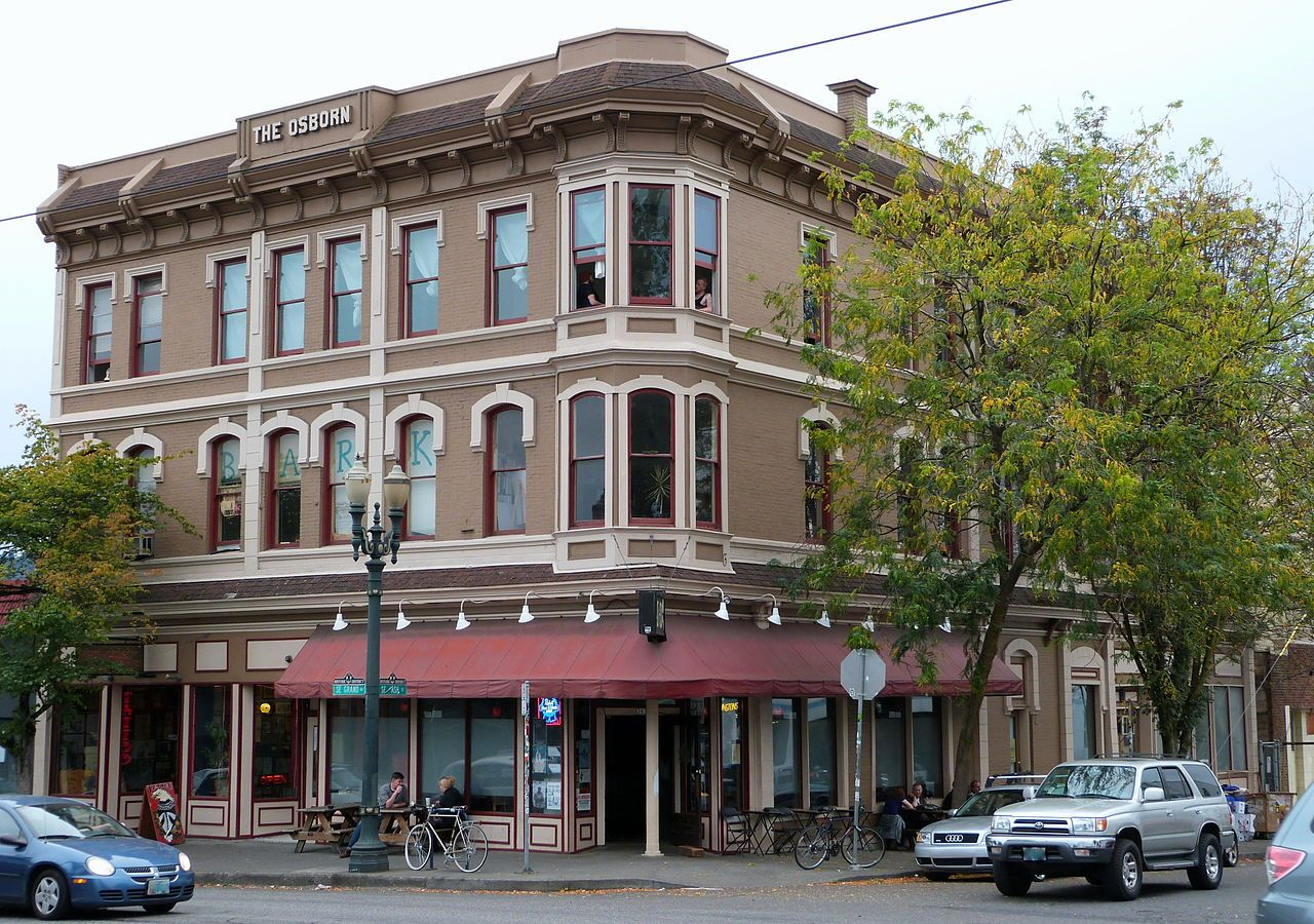 Osborn Hotel In Southeast Portland Oregon