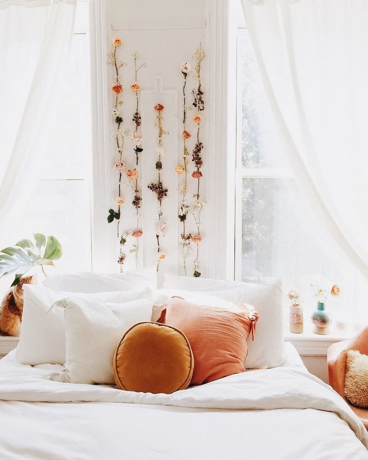 p i n t e r e s t || sarahesilvester in 2019 | Bohemian ... Floweral Pinterest House Decor Designs on