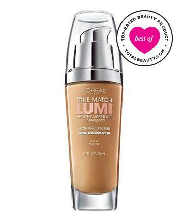 Luminous foundation for dry skin
