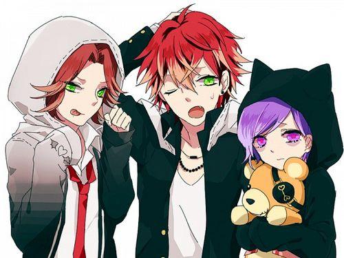 triplets | Anime | Diabolik lovers laito, Diabolik lovers