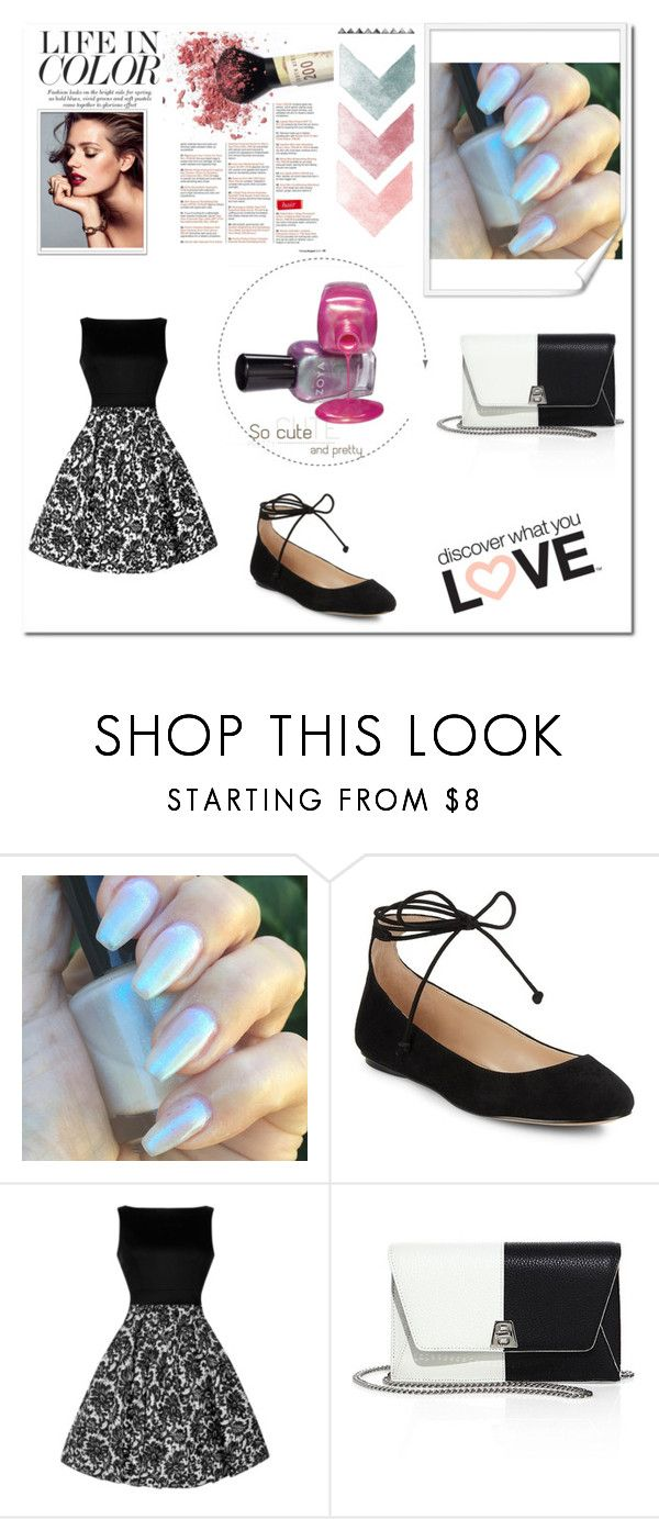 """Black and white"" by kata-723 on Polyvore featuring moda, Karl Lagerfeld y Akris"