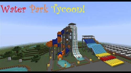 Make Your Own Water Park Tycoon Image With Images Minecraft