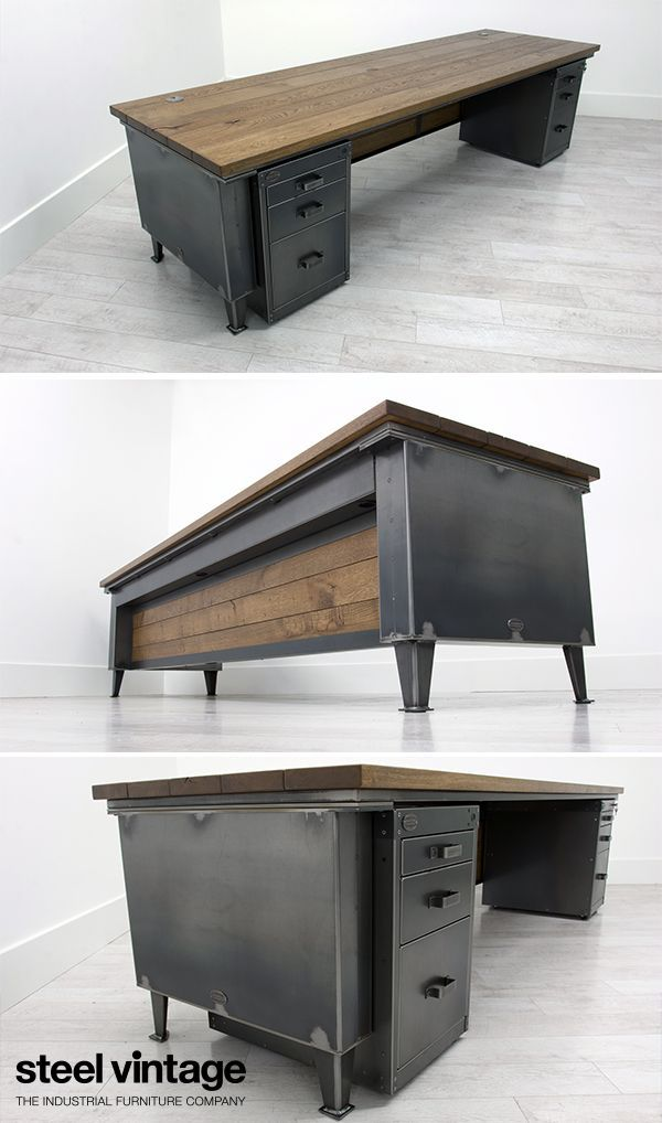 Office Furniture Industrial Desk, Industrial Office Furniture