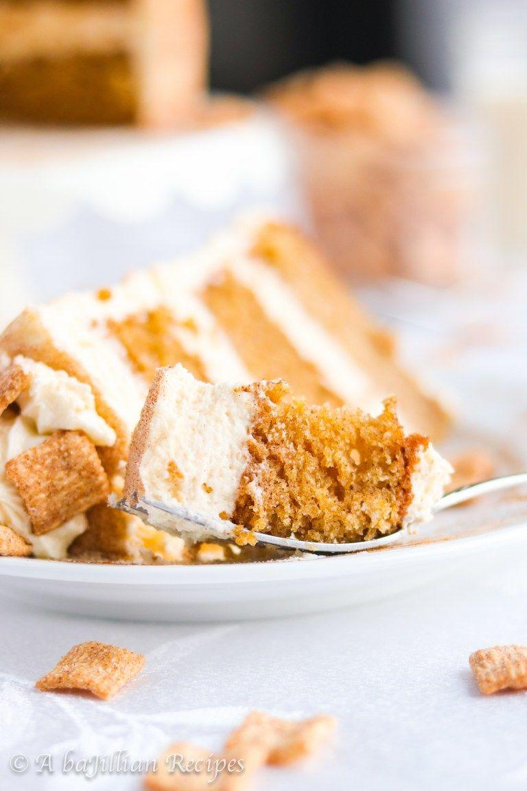 Cinnamon toast crunch cake a bajillian recipes savoury