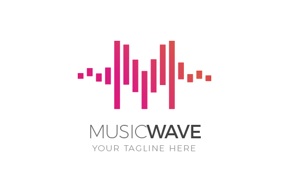 Music Wave Logo Music Logo Inspiration Waves Logo Music Logo Design