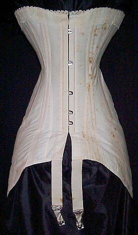 WWI-era corset. This will be a great costume for good faerie look but change the tie's to long ribbons that flow like swallow tails.