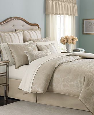 Martha Collection Gated Garden 24 Piece King Comforter Set Bed In A Bag