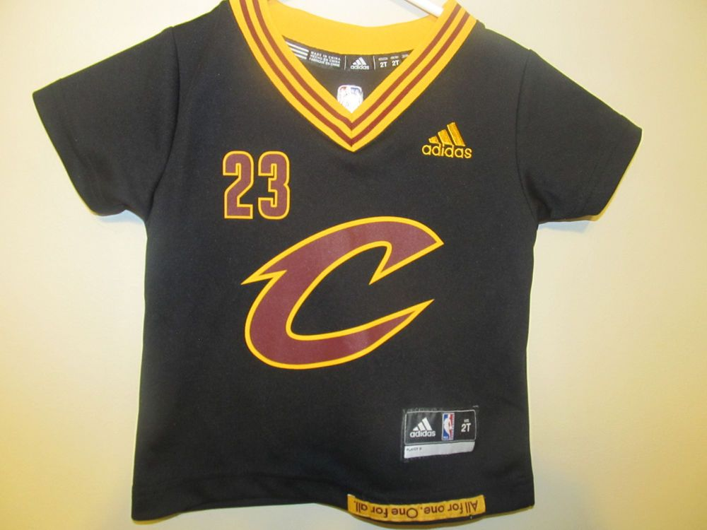 reputable site 86aa3 4def8 Details about Adidas Cleveland Cavaliers #23 LEBRON JAMES ...