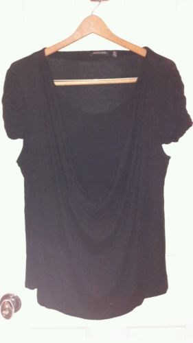 12.75$  Watch now - http://vixqi.justgood.pw/vig/item.php?t=5a9qe3d32616 - Notations Black women's XL top 12.75$
