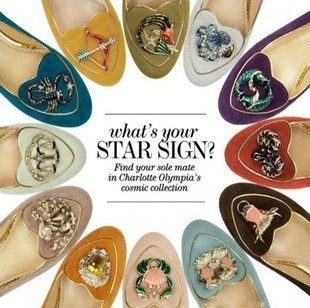 Low-cut shoes, Women's Shoes, CharlotteOlympia twelve Zodiac constellations shoes flat shoes shallow mouth single shoes sheepskin shoes crystal